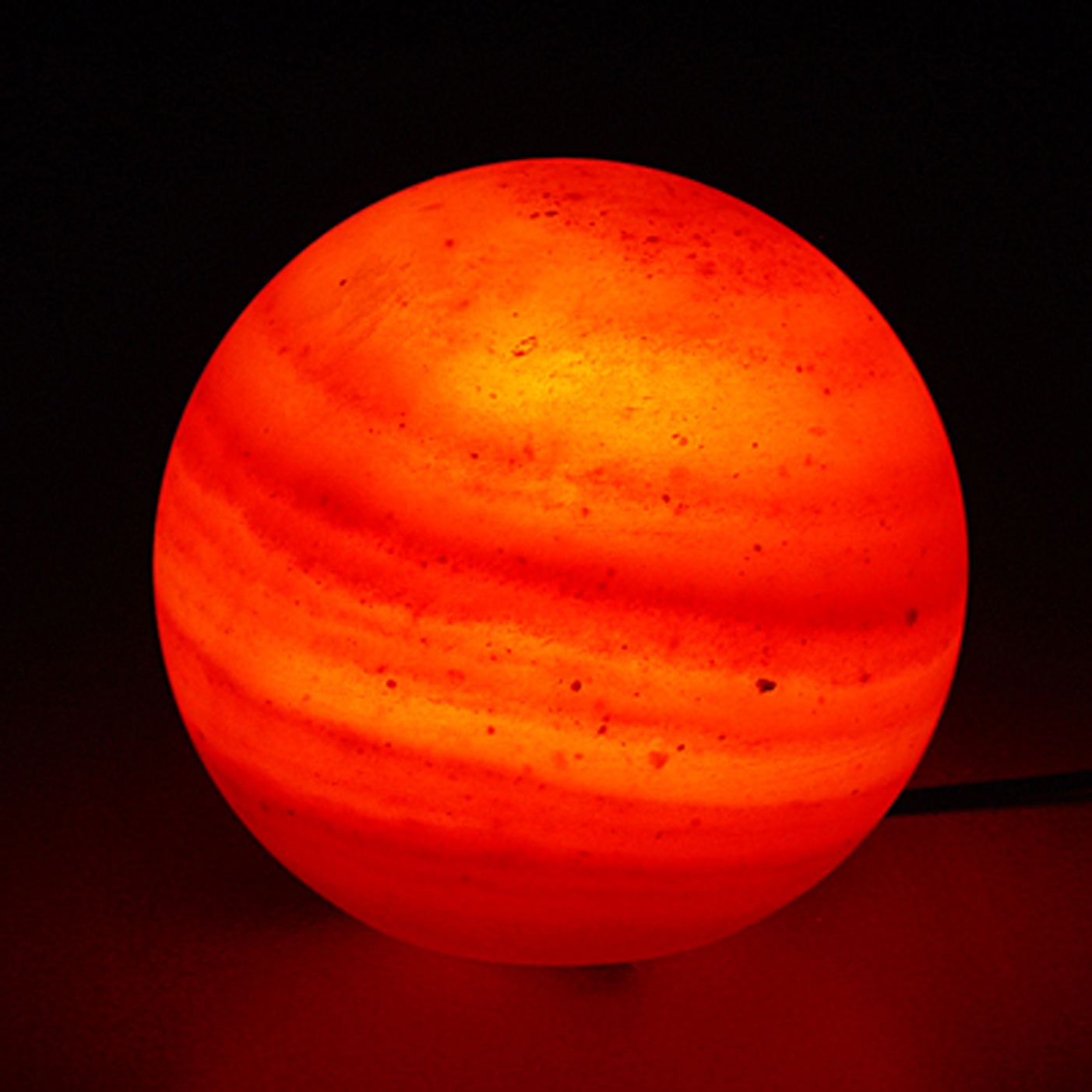 globe salt lamp